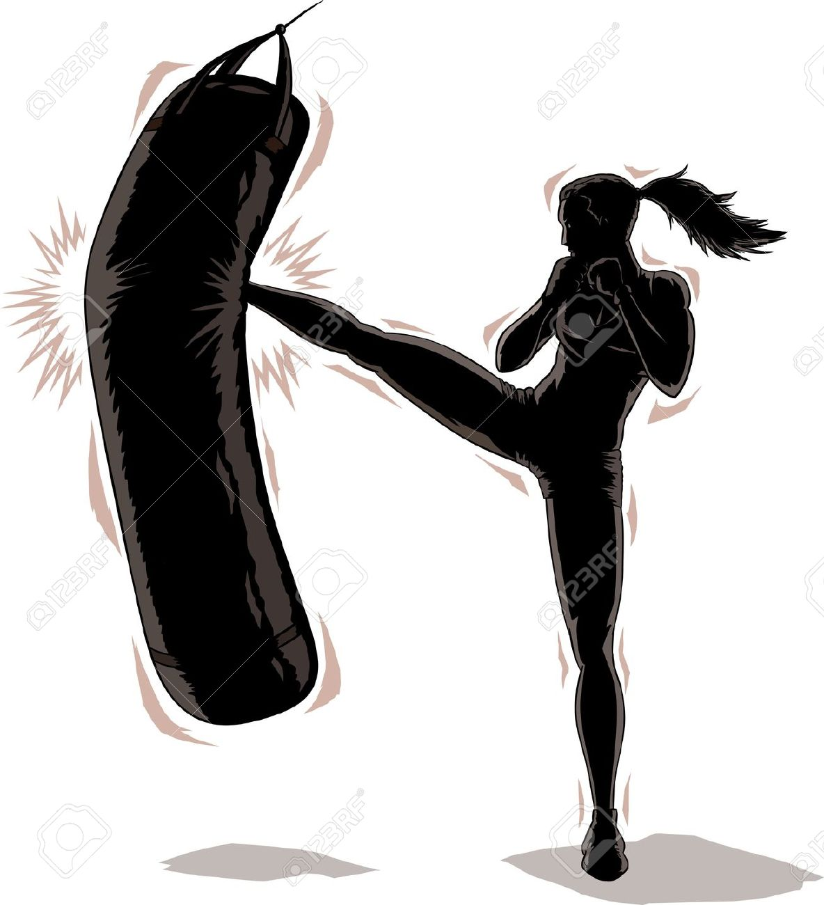 1184x1300 Kickboxing Stock Photos Images, Royalty Free Kickboxing Images