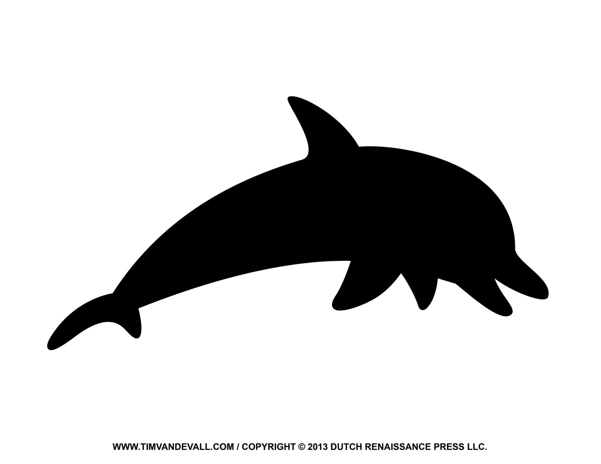 1200x927 Dolphin Clipart Silhouette