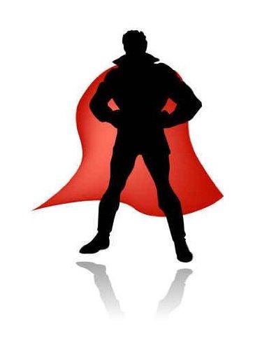 375x500 Shaow Clipart Superhero