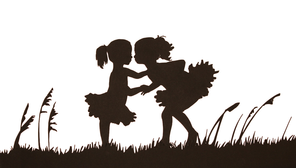 1200x681 A Fairy Playing With Her Magic Wand. Fairy Silhouette