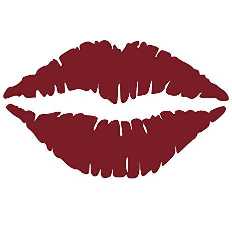 463x463 Kiss Wall Decal Sticker