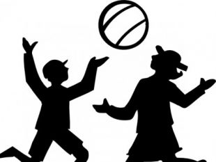 310x233 Kids Silhouettes Set free vectors UI Download