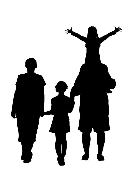 531x750 Family Silhouette Vector Free Download. Palm Tree Png, Vectors