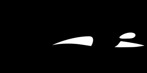 500x250 Orca Silhouette Public Domain Vectors
