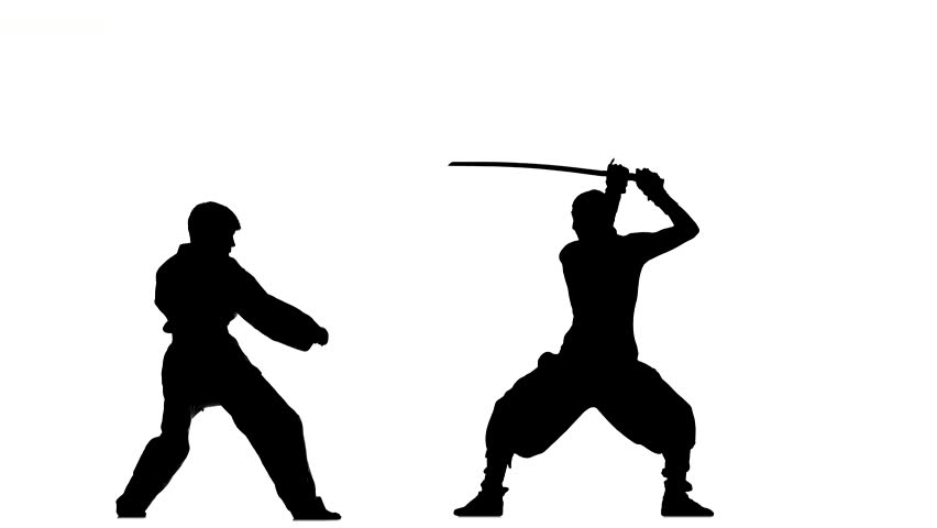 852x480 Sparrynh Taekwondo, Martial Arts On A White Background, Black
