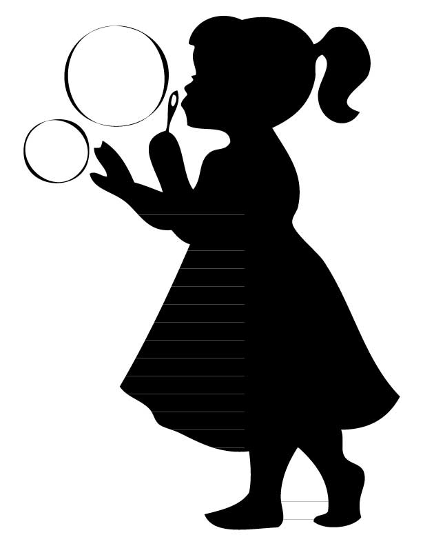 614x792 Boy And Girl Silhouette Collection