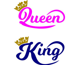 king and queen silhouette at getdrawings com free for clipart princess crown princess crown clipart png