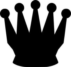 300x282 Queen Silhouette Clip Art