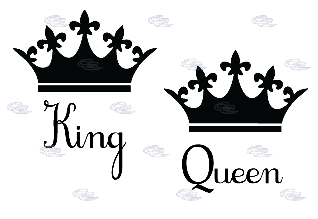 1013x697 King And Queen Crowns