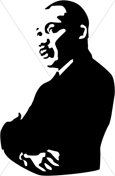399x612 Martin Luther King Clipart