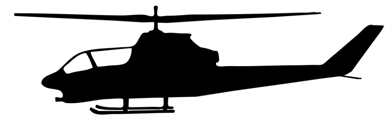 800x249 Apache Helicopter Clipart