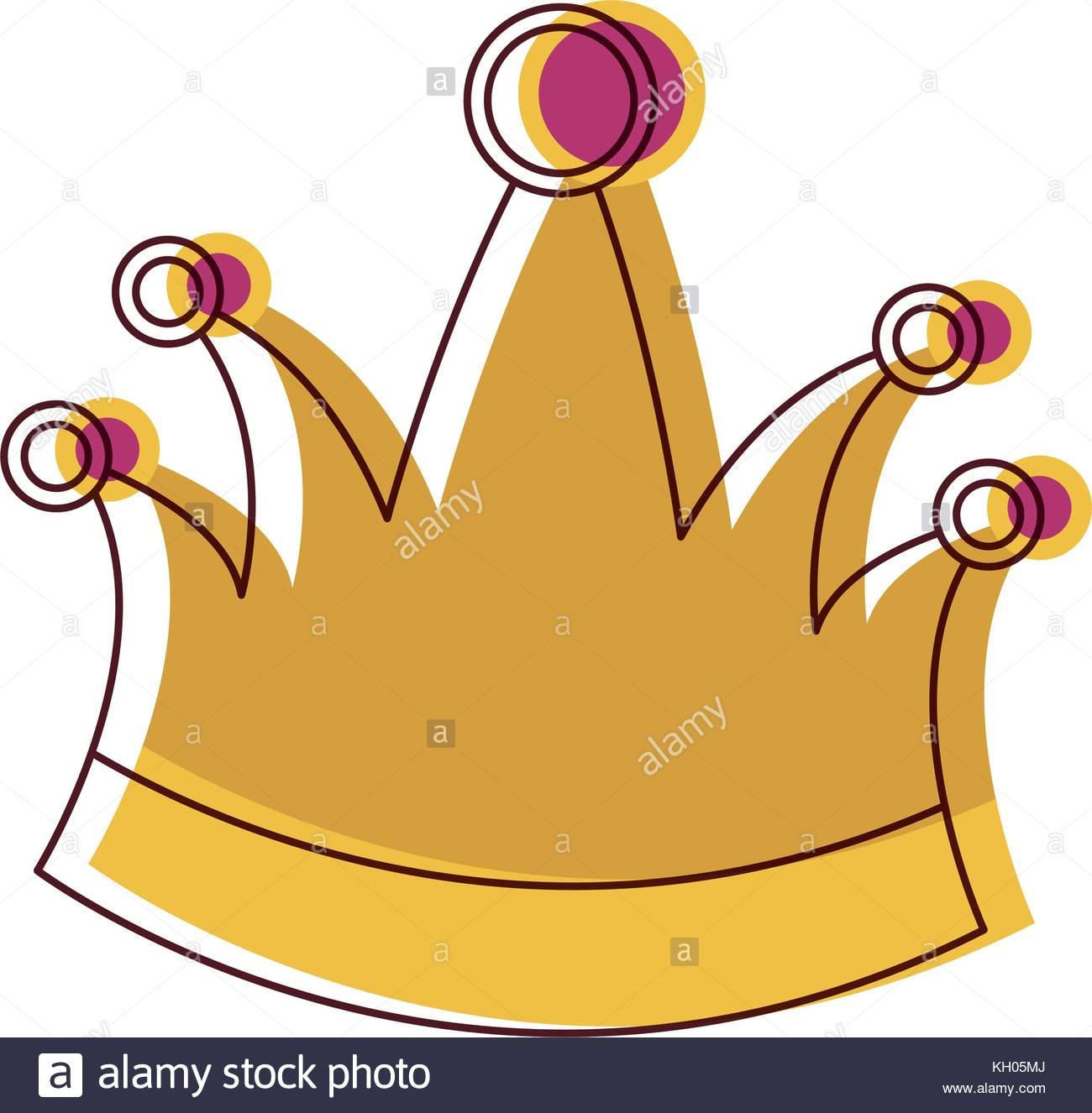 1300x1326 King Crown In Watercolor Silhouette Stock Vector Art