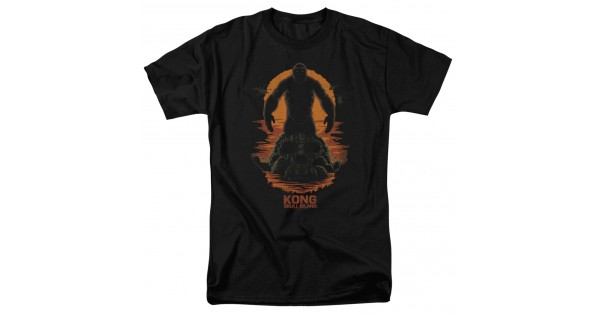 600x315 Kong Skull Island Silhouette T Shirt