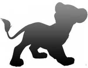 300x232 Lion King Characters Silhouettes