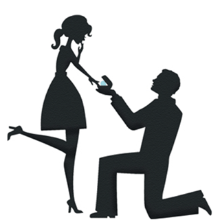 320x320 Engagement Silhouette