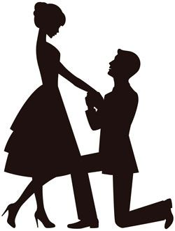 250x331 Engagement Silhouette Printables Silhouettes