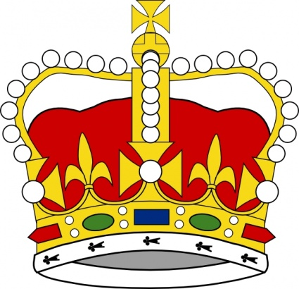 425x410 King Crown Vector