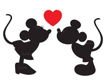 340x270 Mickey Minnie Kiss Etsy