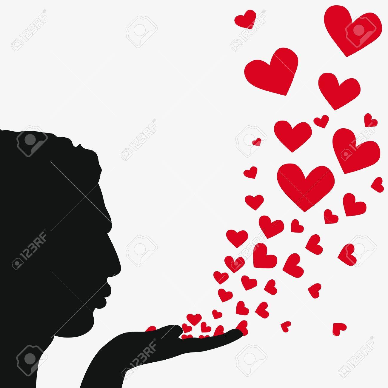 1300x1300 Kiss Clipart Heart