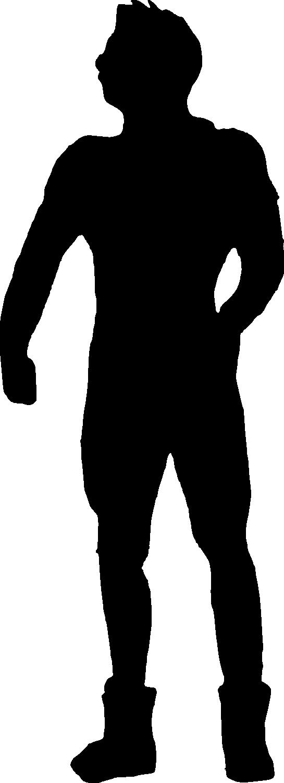 545x1500 Silhouette Clip Art