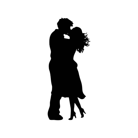 570x570 Boyfriend Woman Girlfriend Kiss Love Graphics Svg Dxf Eps Png Cdr