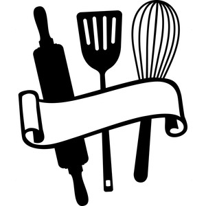 Kitchen Utensil Silhouette At Getdrawings Com Free For Personal
