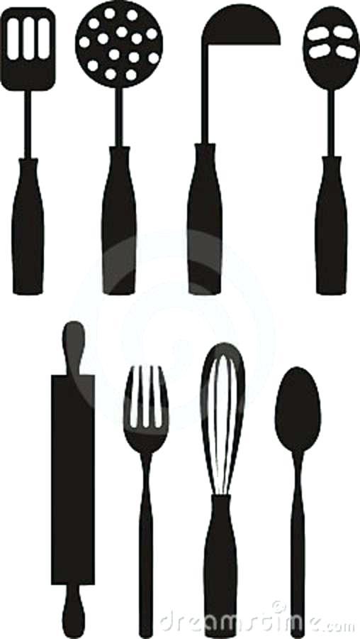 kitchen utensils silhouette vector free. 508x900 Kitchen Utensils Silhouette Vector Free T