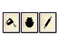 236x179 Kitchen Wall Art Trio