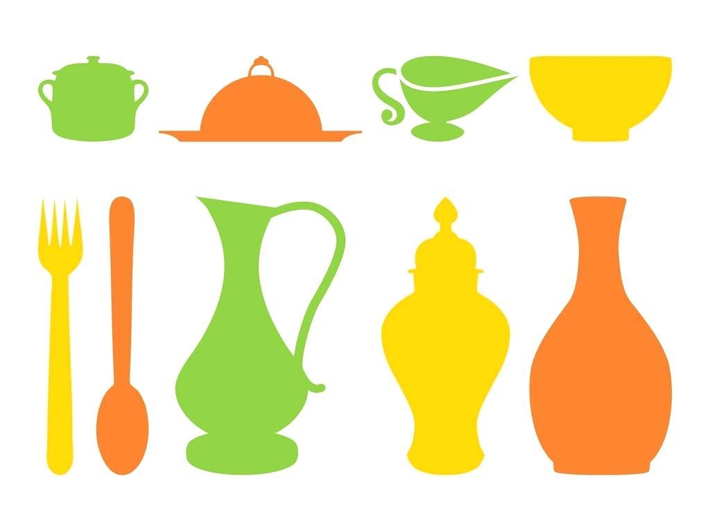 kitchen utensils silhouette vector free. Kitchen Utensils Silhouette At Getdrawings Com Free For Personal Rh Vector K
