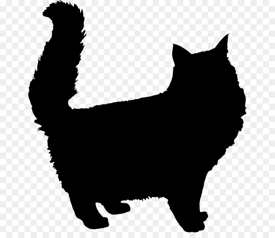 900x780 Persian Cat Kitten Silhouette Clip Art