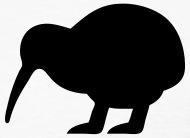 190x138 Kiwi Bird Silhouette By Azza1070 Spreadshirt