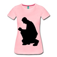 190x190 Kneeling Praying Man Silhouette By Martmel Cus Spreadshirt