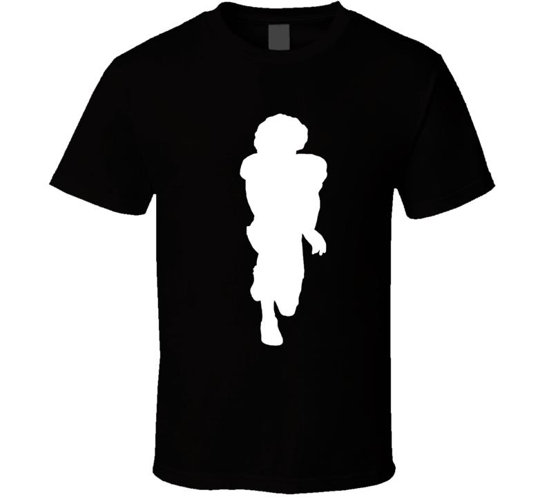 792x719 Colin Kaepernick Kneeling Silhouette 2 T Shirt