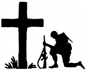 300x245 Troop Kneeling
