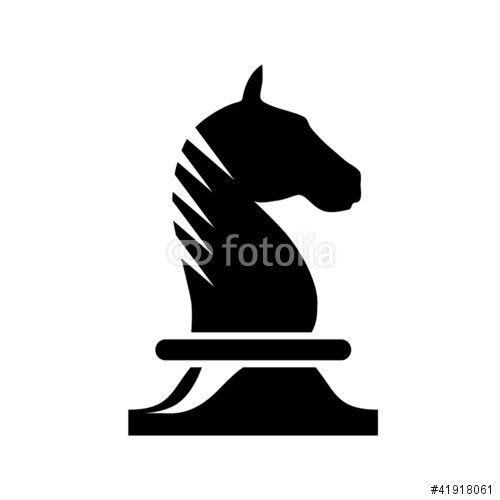 500x500 Knight, Chess, Logo Knight, Chess Piece Knight