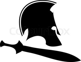 320x247 Ancient Helmet With Sword And Laurel Wreath 1. Raster Variant