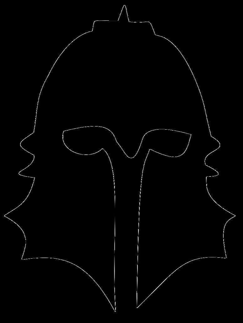 776x1029 Dragon Age Inquisitor Helmet Silhouette By Kiraakumachi