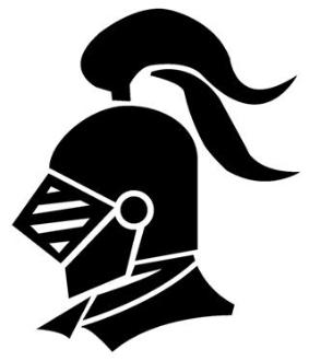 283x330 Knight Helmet 1 Decal Sticker