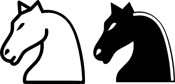 600x289 Knight Clipart Horse Silhouette