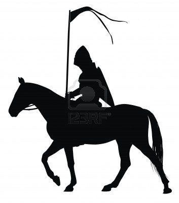 353x400 Medieval Knight Silhouette Kid Stuff Silhouettes