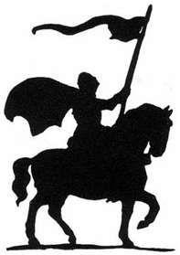 197x279 Knight On Horse Knight On Horseback Art