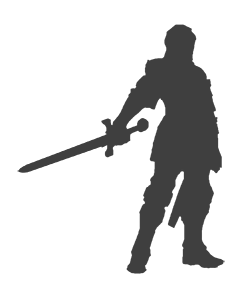 240x300 Knight Silhouette Png