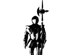 310x233 Warriors And Knights Silhouettes Free Vectors Ui Download