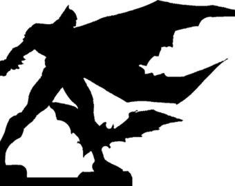 340x270 Batman The Dark Knight Metal Silhouette Batman