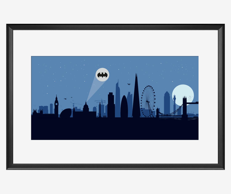 1500x1264 London Skyline Print London Print London Poster London Art