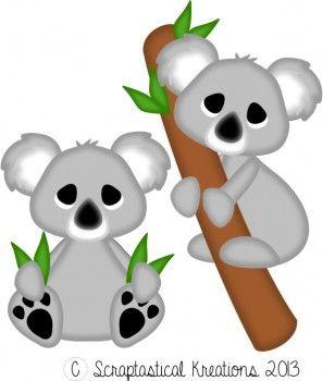 297x350 Koala Bears Scraptastical Kreations Files Bears
