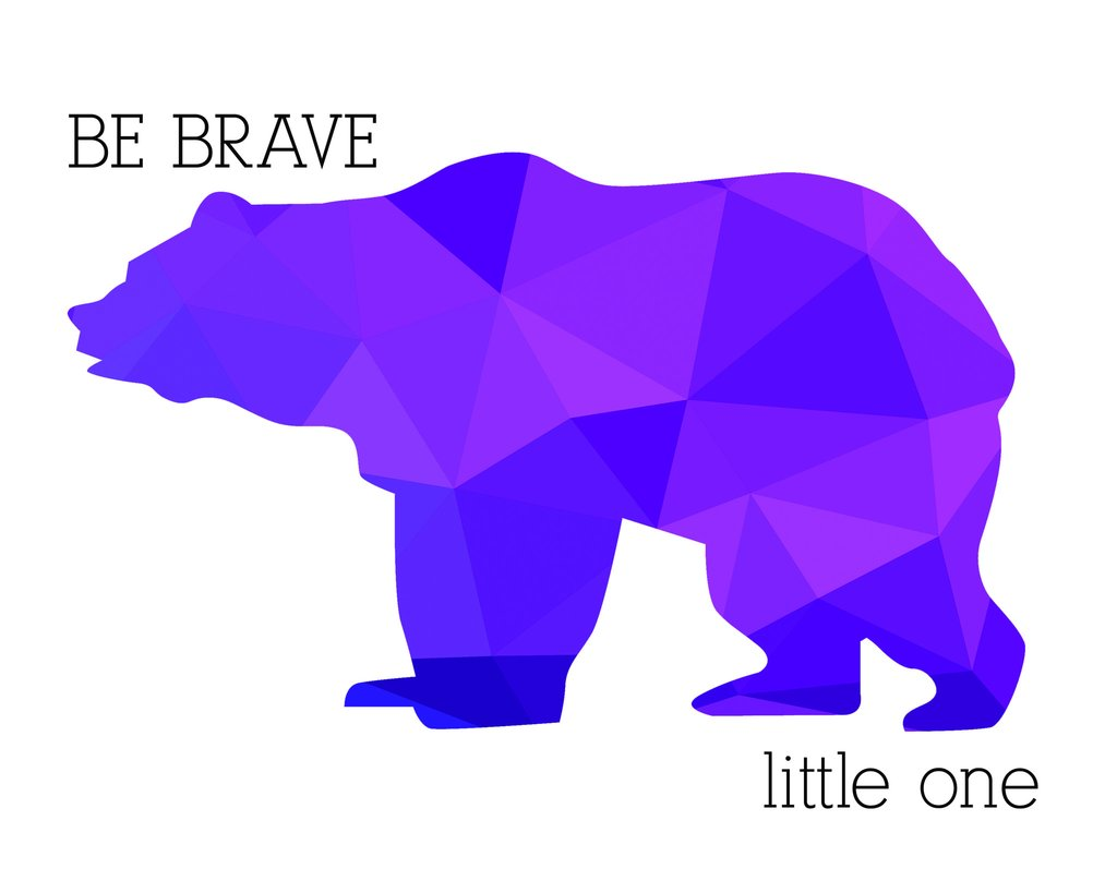 1024x819 Bear Print Collection These Bare Walls