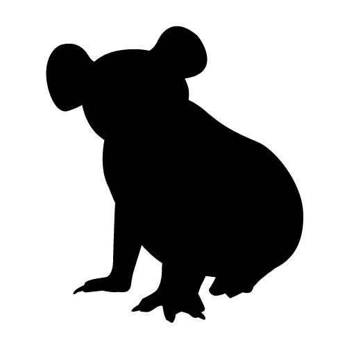500x500 Best Photos Of Koala Bear Silhouette