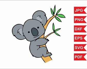 340x270 Koala Clipart Etsy