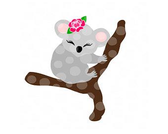 340x270 Koala Cut File Etsy
